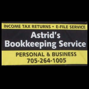 Astrid's Bookkeeping